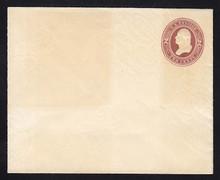 U277 UPSS # 798-6 2c Brown on White, die 1, Mint Entire, toning