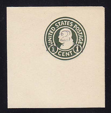 U465 2c on 1c Green on White, die 1, Mint Full Corner, 60 x 65, PF Certificate