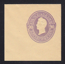 U346 90c Purple on Manila, Mint Full Corner, 50 x 50