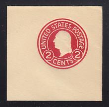 U429b 2c Carmine on White, die 3, Mint Full Corner, 50 x 50