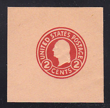 U431 2c Carmine on Oriental Buff, die 1, Mint Full Corner, 50 x 50
