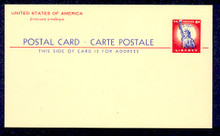 UX45 UPSS# S62 4c Statue of Liberty International Mint Postal Card