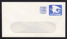 U566 UPSS# 3559-47 2c + 8c Ultramarine, Mint Entire