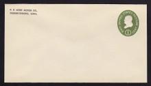 U532b UPSS# 3290-45 1c Green, die 3, Mint Entire