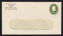 U532b UPSS# 3292a-45 1c Green, die 3, Mint Entire