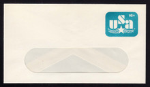 U586a, UPSS #3620a-49A 15c on 16c Blue, Surcharge Omitted, Mint Entire