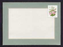 U657 37c Lilacs & Roses Letter Sheet, Folded