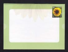 U665 42c Sunflower Letter Sheet, Folded