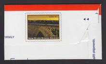 U675 $4.95 New River Gorge Bridge, Mint Full Corner