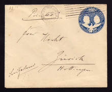 U348 UPSS# 1143 Columbian World's Fair Station Machinel Cancel to SWTZ