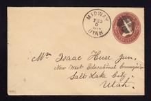 U277 UPSS# 793-7 Midway, UTAH 1890 Territorial CDS
