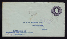 U439b UPSS# 2553-19 USED FROM CANADA to MA 1918