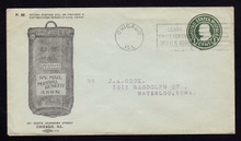 U432b Advertising Mutual Benefit Assoc., Mail Bag, Chicago, IL