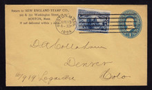 U304 UPSS # 901-8 New England STAMP Co Boston, MA 1894