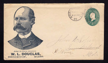 U318 Brockton, MA W.L. Douglas Advertising 1889