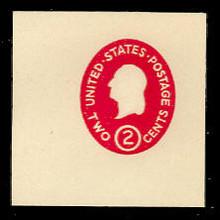 U533 2c Washington Carmine, die 3, Mint Full Corner