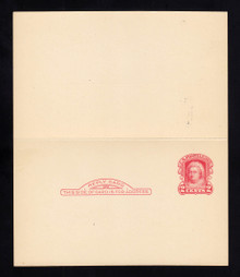 UY9 UPSS# MR16-3a, Boston Surcharge, Mint, Folded, M-Normal/R-NONE