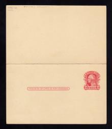 UY9 UPSS# MR16-5b Cincinnati Surcharge, Mint, Folded, M-NONE/R-Normal