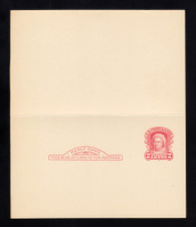 UY9 UPSS# MR16-6a Cleveland Surcharge, Mint, Folded, M-Normal/R-NONE