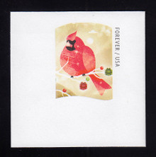 U687 (49c) Cardinal, Mint Full Corner