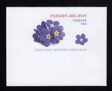 U692 (49c) Forget-Me-Nots, Mint Full Corner