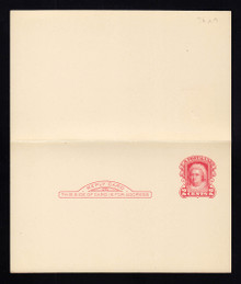UY9 UPSS# MR16-6a New York Surcharge, Mint, Folded, M-Normal/R-NONE