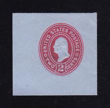 U361 2c Carmine on Blue, die 1, Mint Full Corner, 44 x 44