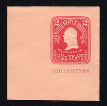 Philippines: U29 2c on Oriental Buff, Mint Full Corner, 50 x 50