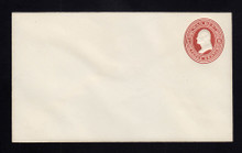 UO20 UPSS# WD3 3c Dark Red on White, Mint Entire