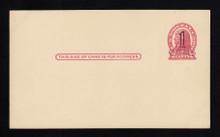 UX32 UPSS# S44-46, Detroit 2nd Die Surcharge, Mint Postal Card
