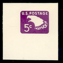 U550 5c Purple Eagle, Mint Full Corner