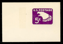 U550a 5c Purple Eagle, tagged, Mint Full Corner