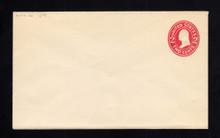 U411f UPSS# 1754-20 2c Carmine on White, die 7, Mint Entire