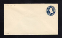 U418 UPSS# 1985-15A 5c Blue on White, die 2, Mint Entire