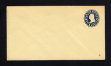 U419a UPSS# 1993-15 5c Blue on Amber, die 1, Mint Entire