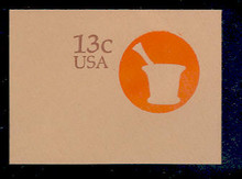 U574 13c American Doctor, Mint Full Corner