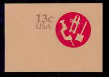 U575 13c American Craftsman, Mint Full Corner