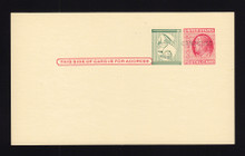 UPSS # S54E-Ab 1958 Surcharge Essay for New Rate