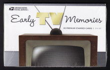 UX567-586 28c Early TV Memories Mint Postal Cards