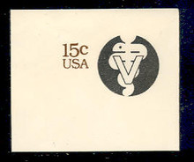 U595 15c Veterinarians, Mint Full Corner