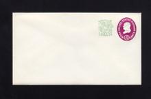 U545 UPSS# 3506-48 4c + 1c Red Violet, type 1, Mint Entire