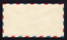 UC1 UPSS # AM-2-28 5c Blue, die 1, Mint Entire, Albino Stamp