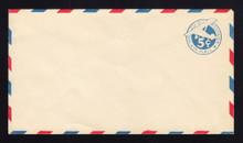 """UC1 UPSS # AM-4-30 5c Blue, die 1, Mint Entire, Large """"5"""""""