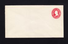 U411d UPSS# 1729e-15A 2c Carmine on White, die 5, Mint Entire