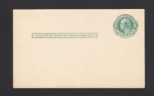 """UY6 UPSS# MR12 1c Washington, Mint FOLDED, Ink """"Blob"""" above ear"""