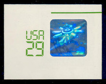 U625 29c Space Shuttle Hologram, Mint Full Corner