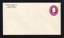 U536a UPSS# 3388a-46 4c Red Violet, die 2, Mint Entire