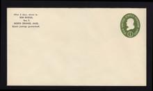 U532b UPSS# 3294a-45 1c Green, die 3, Mint Entire