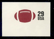 U631 29c Football, Mint Full Corner