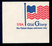 U633 (32c) Old Glory small, Mint Full Corner